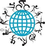 Logo de jeux Images libres de droits