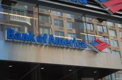 Logo de la Banque d'Amérique Photos libres de droits