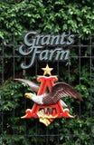 Logo de la ferme de Grant Image libre de droits