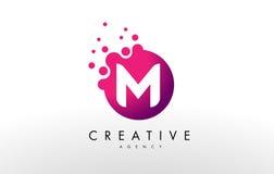 Logo de la lettre M M Letter Design Vector Photos libres de droits