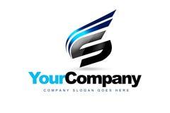 Logo de la lettre S illustration stock