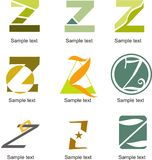 Logo de la lettre Z Image libre de droits