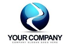 logo de la sphère 3D Photos libres de droits