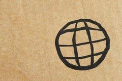 Logo de la terre Photographie stock
