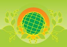 Logo de la terre Photos libres de droits