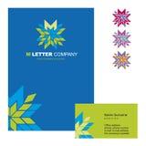 Logo 02 de lettre de M Photographie stock