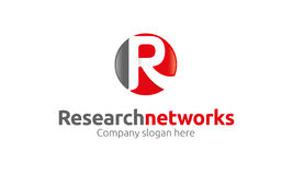 Logo de lettre de R Photo stock