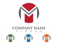 Logo de lettre de M Photo libre de droits