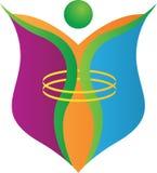 Logo de liberté Photo libre de droits