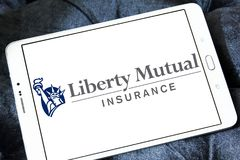 Logo de Liberty Mutual Insurance Photos stock