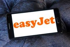 Logo de ligne aérienne d'EasyJet Image libre de droits