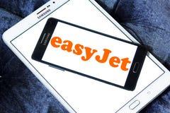 Logo de ligne aérienne d'EasyJet Photographie stock