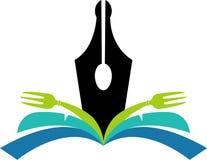 Logo de livre de cuisine Image libre de droits
