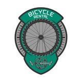 Logo de location de vecteur de bicyclette Illustration Libre de Droits