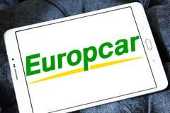 Logo de location de voiture d'Europcar Photo stock