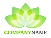 Logo de lotus illustration libre de droits