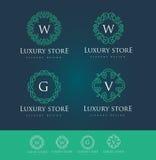 Logo de luxe illustration de vecteur