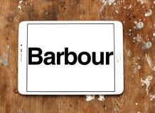 Logo de luxe de marque de mode de Barbour Photo libre de droits