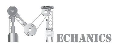 Logo de mécanique Photos stock