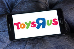 Logo de magasin d'enfants de Toys R Us Photos stock
