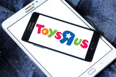 Logo de magasin d'enfants de Toys R Us Images libres de droits
