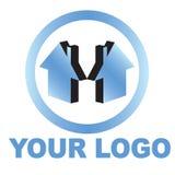 logo de maison de patrimoine réel illustration stock