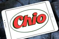Logo de marque de casse-croûte de Chio Photos stock