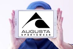 Logo de marque d'Augusta Sportswear Images stock