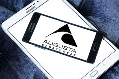 Logo de marque d'Augusta Sportswear Image stock