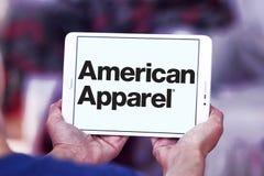 Logo de marque d'habillement d'American Apparel Images libres de droits