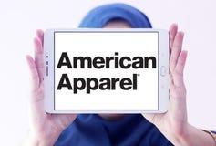 Logo de marque d'habillement d'American Apparel Photo libre de droits