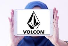 Logo de marque d'habillement de Volcom Image stock