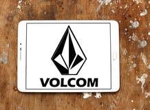 Logo de marque d'habillement de Volcom Images stock