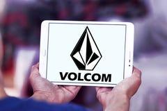 Logo de marque d'habillement de Volcom Photos stock