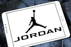 Logo de marque de la Jordanie d'air Image stock