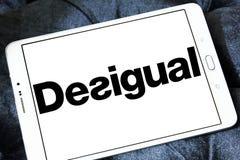 Logo de marque de mode de Desigual Image stock