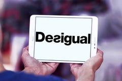 Logo de marque de mode de Desigual Images stock