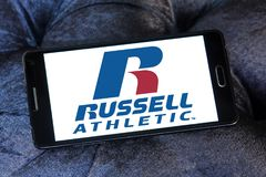 Logo de marque de Russell Athletic Photos libres de droits