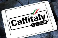 Logo de marque de système de Caffitaly Photo stock