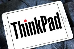 Logo de marque de ThinkPad photo stock