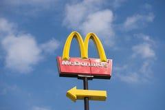 Logo de McDonalds Images stock