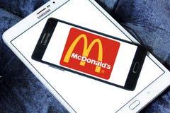 Logo de McDonalds photographie stock libre de droits