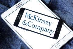 Logo de McKinsey & Company illustration stock
