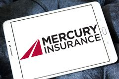 Logo de Mercury Insurance Group Photos libres de droits