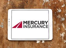 Logo de Mercury Insurance Group Photographie stock libre de droits