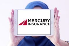 Logo de Mercury Insurance Group Image libre de droits