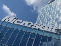 Logo de Microsoft Corporation Images stock