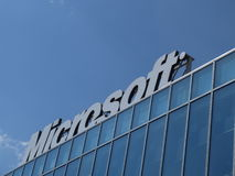 Logo de Microsoft Corporation Photo stock
