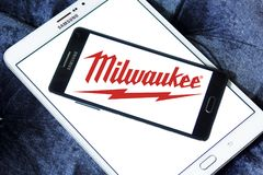 Logo de Milwaukee Electric Tool Corporation Photographie stock libre de droits
