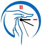 Logo de minuterie Photographie stock libre de droits